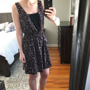 H&M Dark Floral Dress